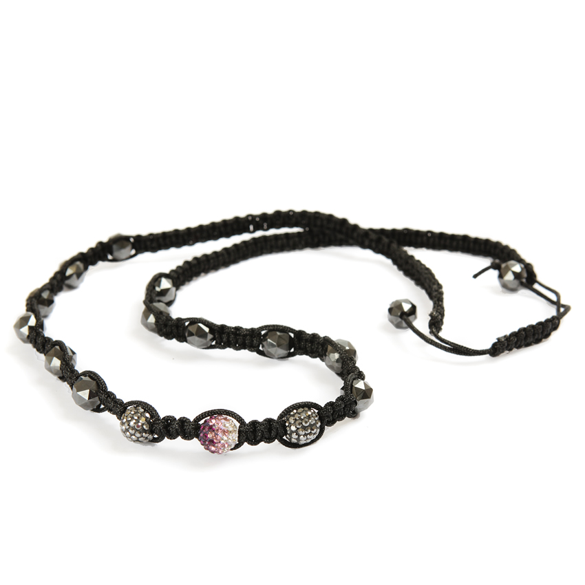 Black and Gunmetal Hematite Necklace