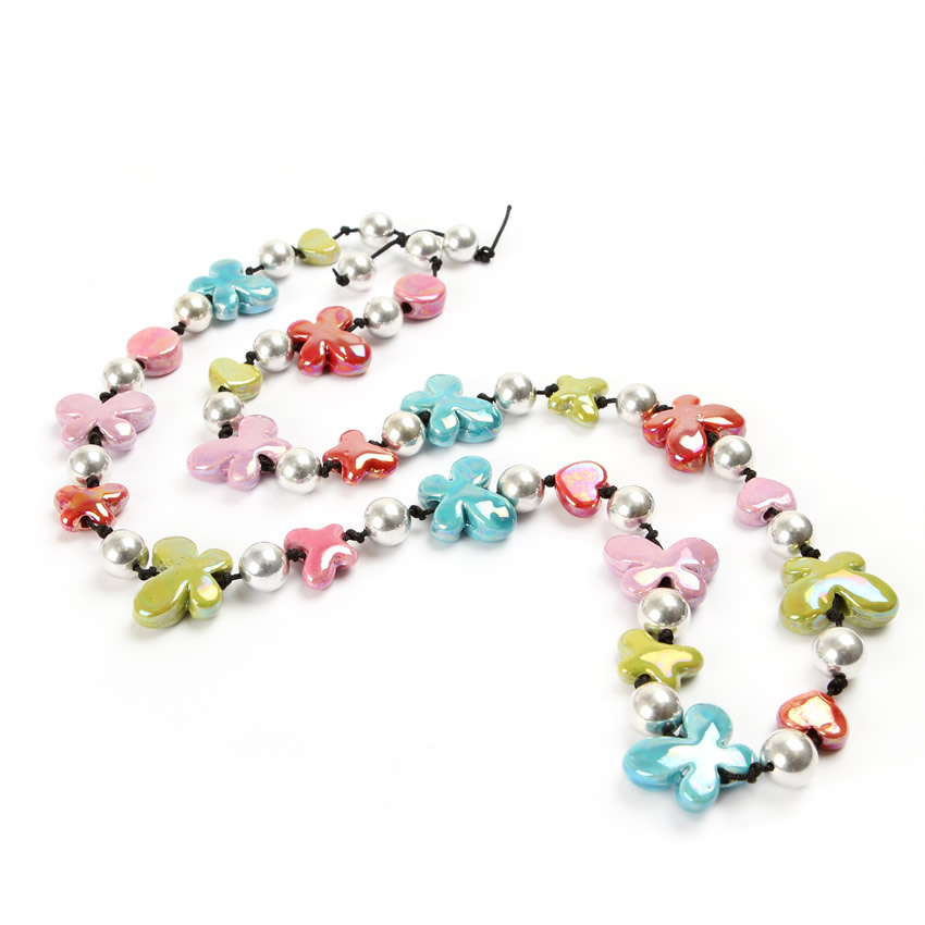 Summer Ceramic Necklace