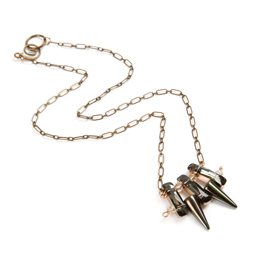 Swarovski Spike Necklace