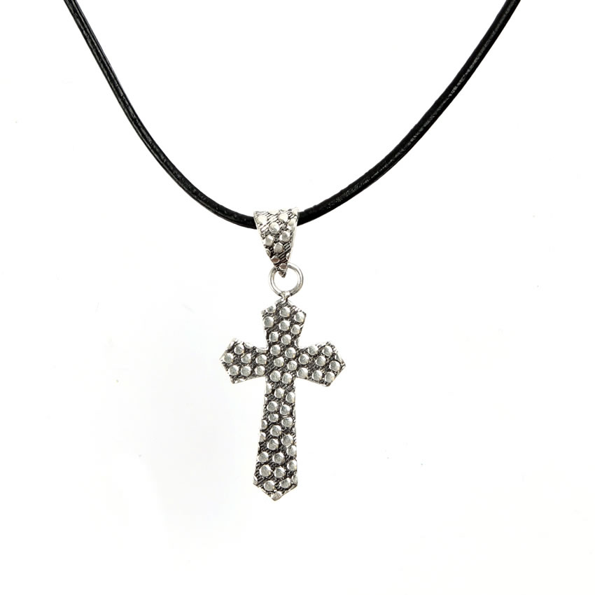 Cross maxi necklace