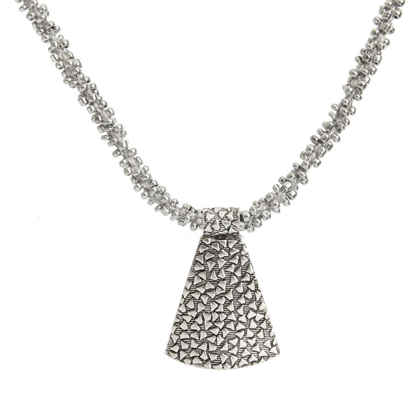 Silver Waterfall Necklace