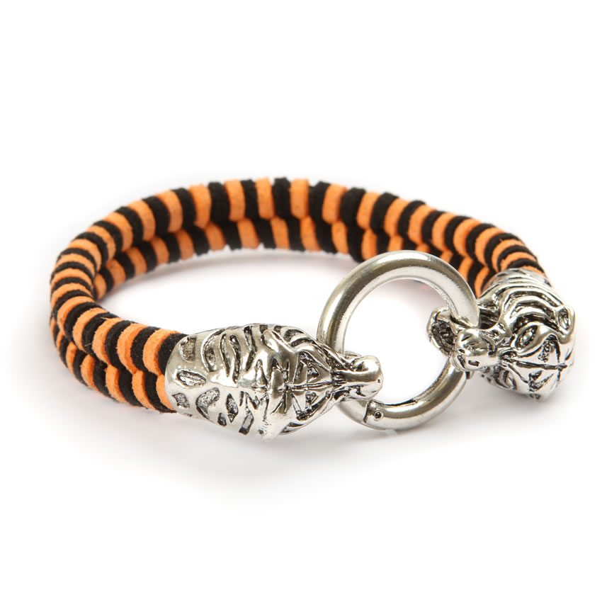 Urban Jungle Bengal Tiger Bracelet