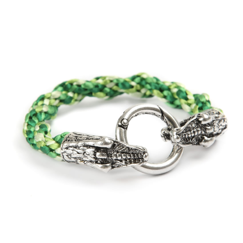 Urban Jungle Nile Croc Bracelet