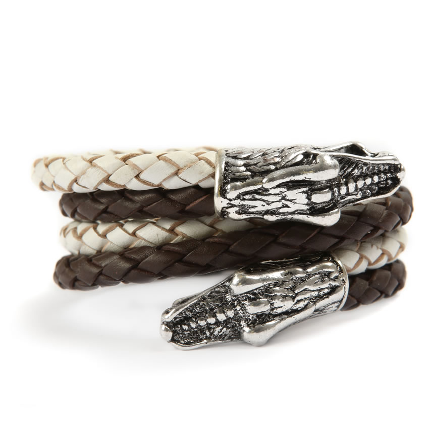 Urban Jungle Caiman Croc Bracelet