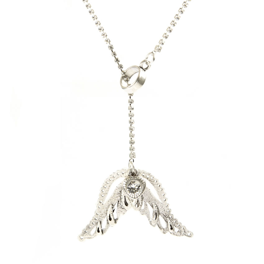 Angelic Silver Necklace
