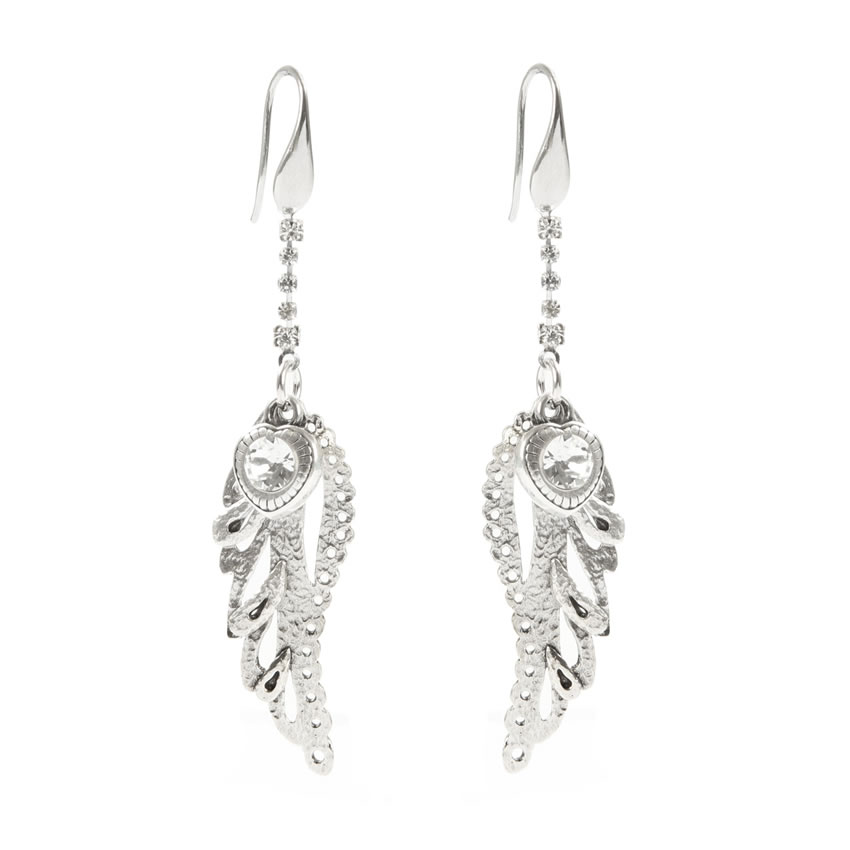 Angelic Silver Earrings