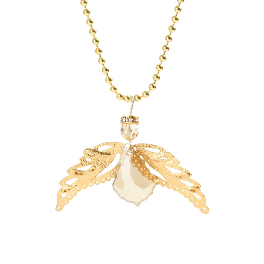 Angelic Gold Necklace