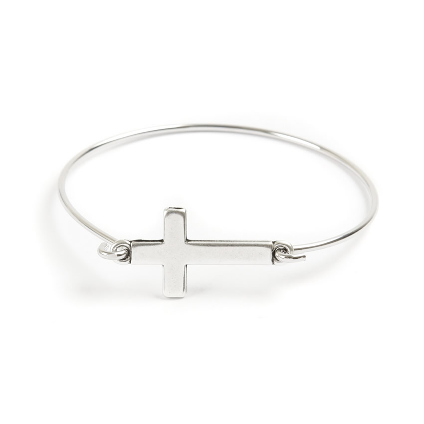 Boutique Cross Bangle