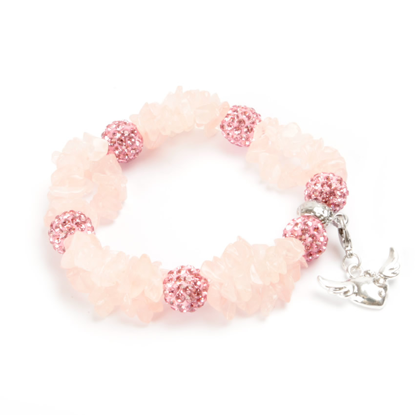 Cherish Bracelet Rose Quartz