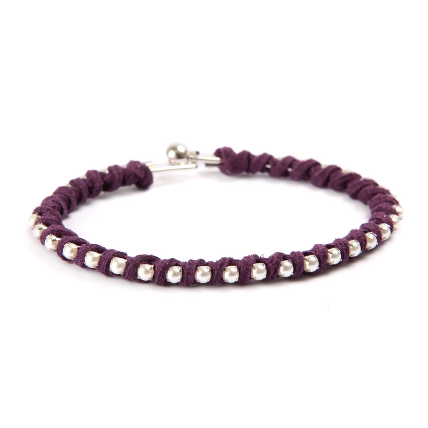 City Life Purple Bangle