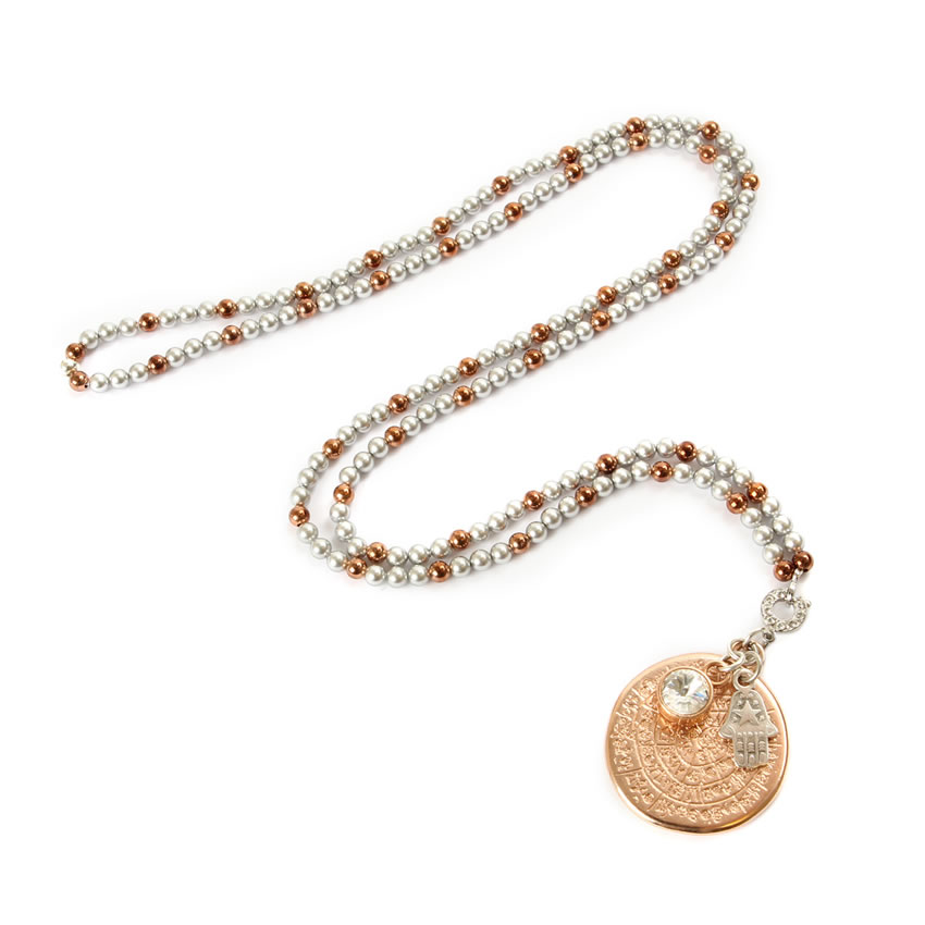 Cleopatra's Treasures Rose Gold Necklace