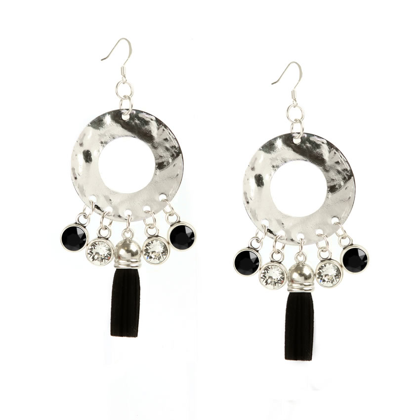 Enigma Silver Earrings