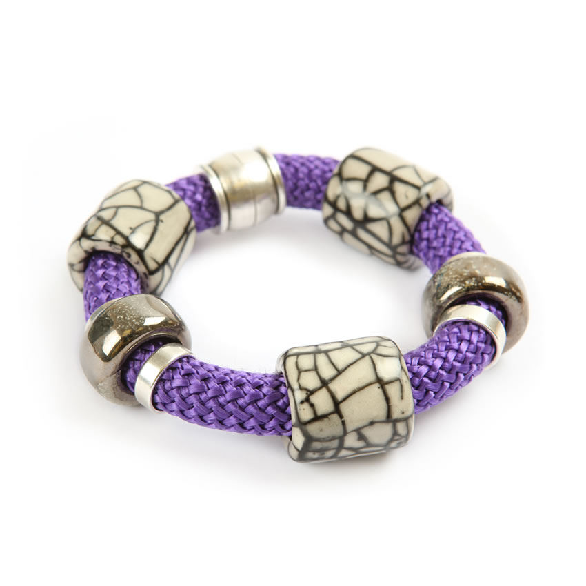 Harbour Purple Bracelet