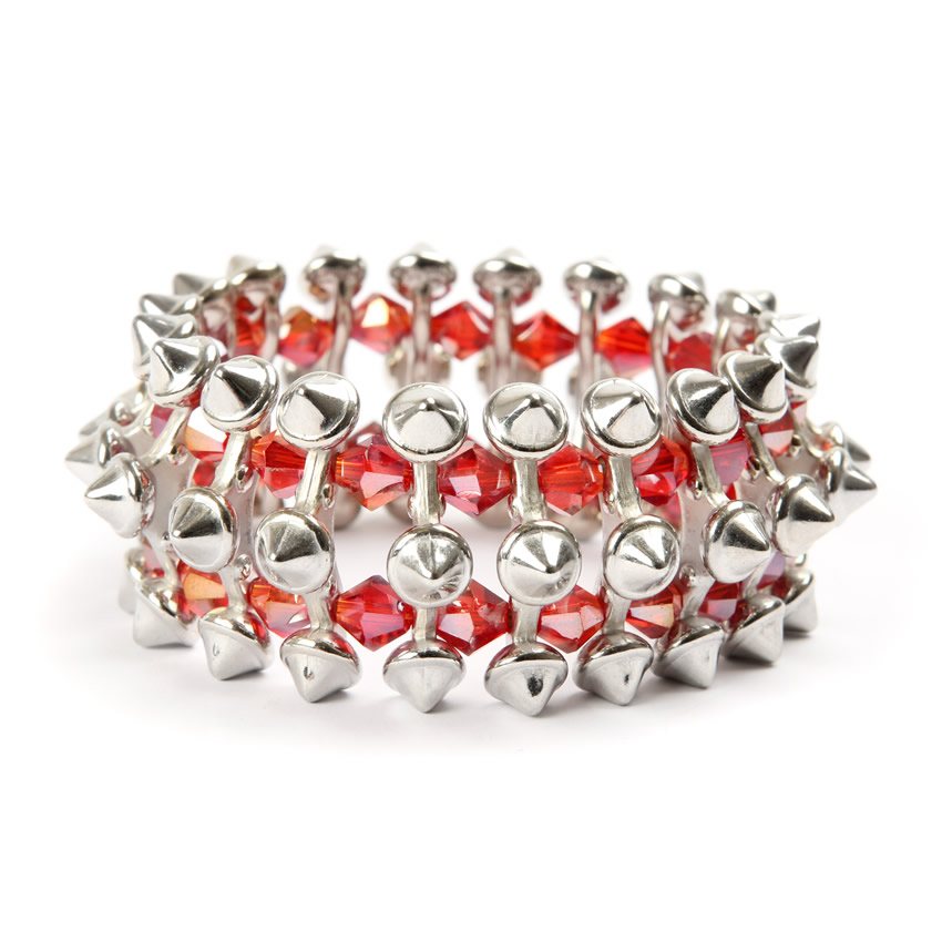 Rebel Radiance Red Sparkle Bracelet
