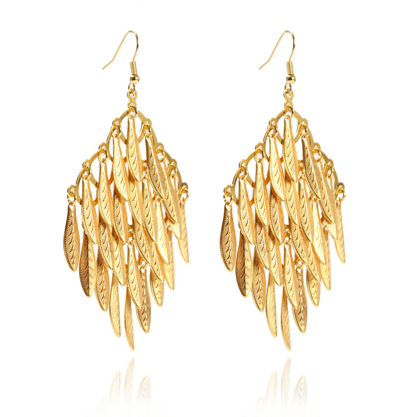 Dream Titania Gold Earrings