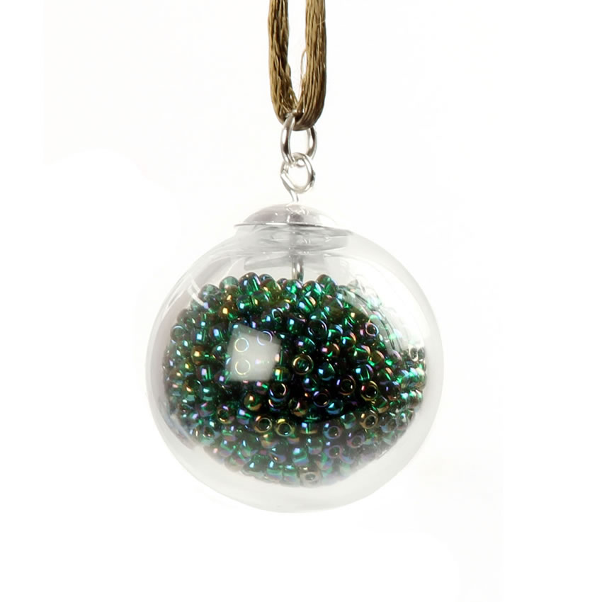 Treasure Me Emerald Bubble Bauble