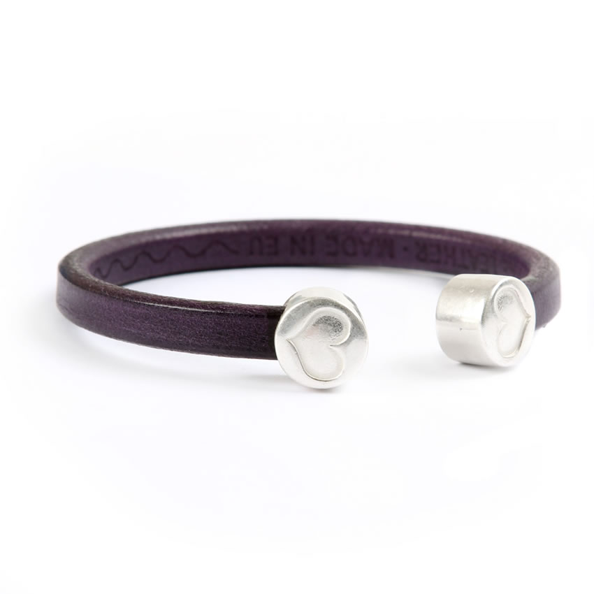 Zen Purple Love Bracelet