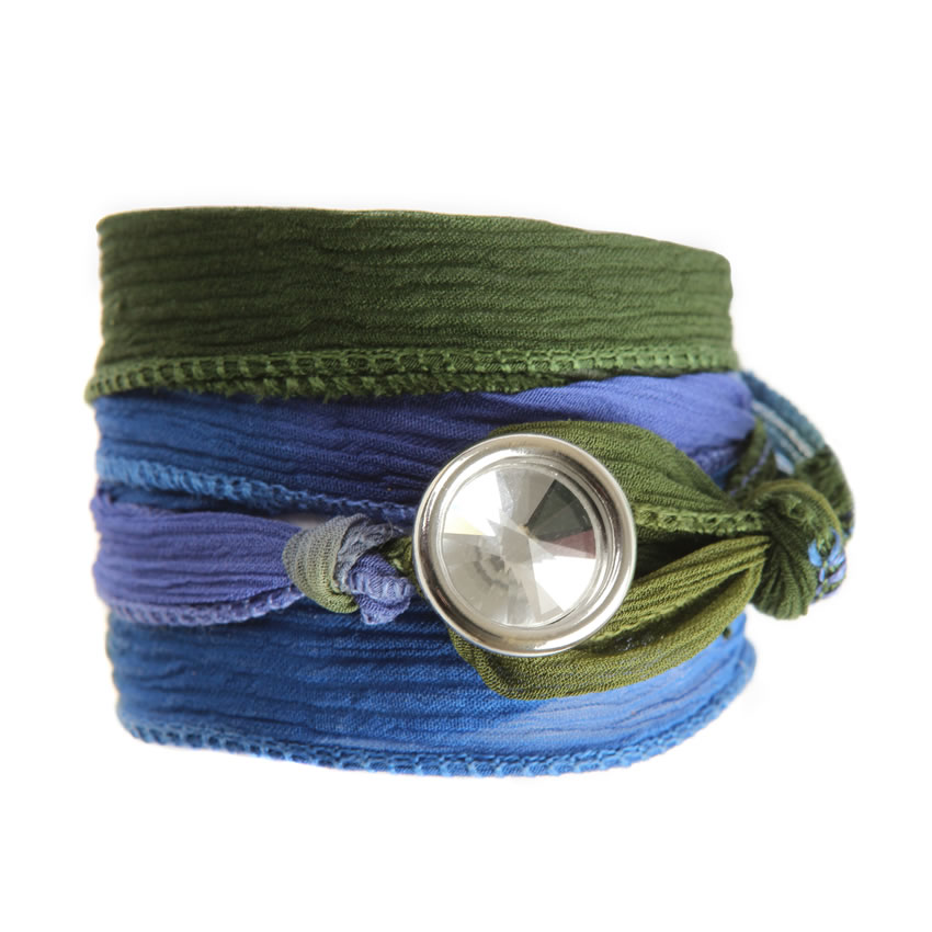 Reflection Ombre Harmony Wrap Bracelet