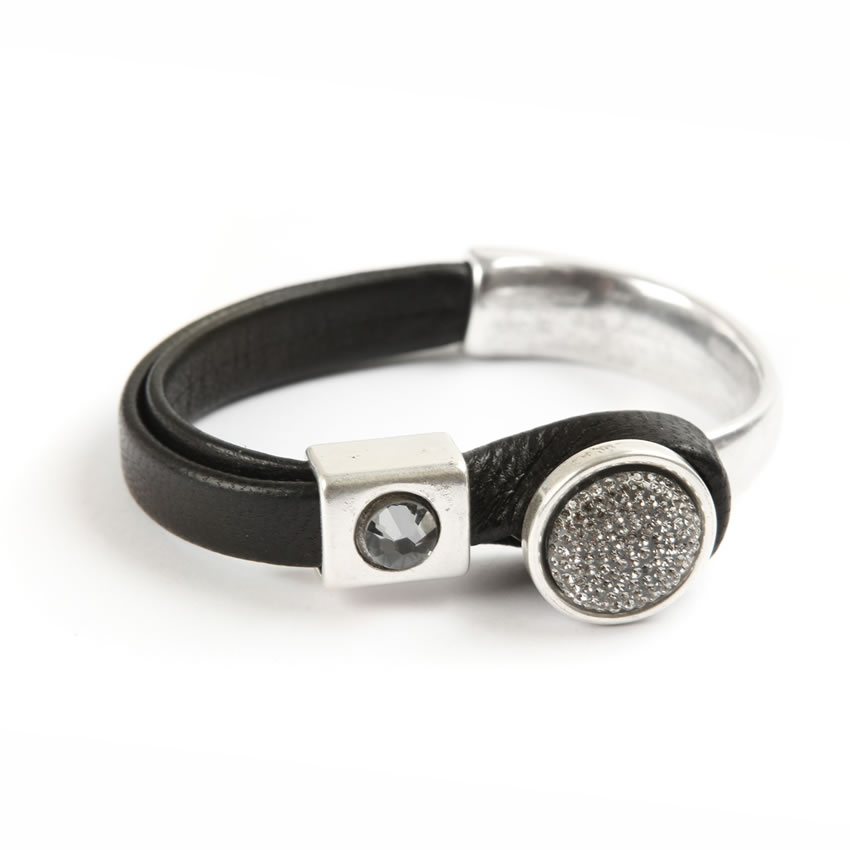 Black Diamond Orbit Bracelet