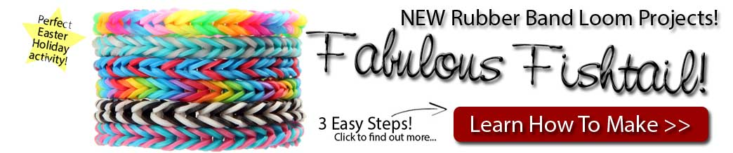 Learn A New Rubber Loom Band Technique With Fishtail Braiding!