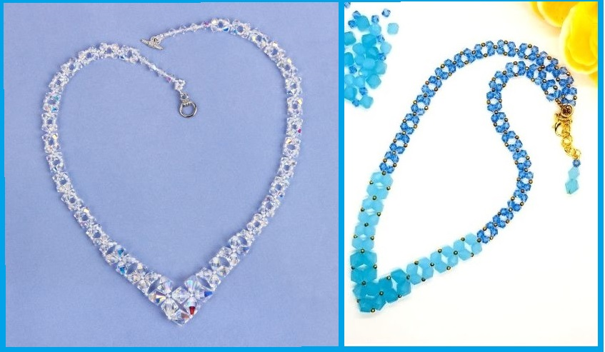 How to make a graduated necklace with a bezelled pendant - jewellery tutorial | Design Team | Blog