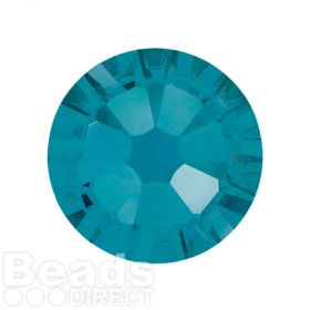 2088 Swarovski Crystal Flat Backs Non HF 7mm SS34 Caribbean Blue Opal F Pk144