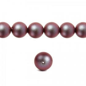 5810 Swarovski Glass Pearl 6mm Crystal Iridescent Red Pk50