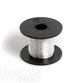 Silver Plated Copper Wire 0.315mm 28gauge 50g/70metre Reel