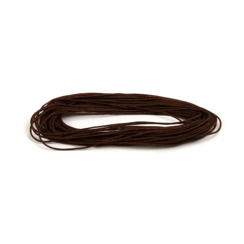 Satin Cord 0.5mm Dark Brown 5m