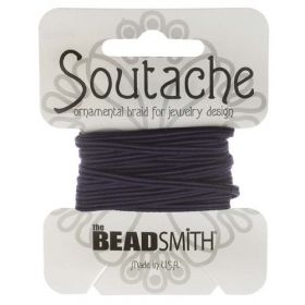 X-Navy Rayon Soutache Cord Beadsmith 3yds