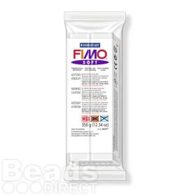 Staedtler Fimo Soft Polymer Clay White 350g (12.34oz)