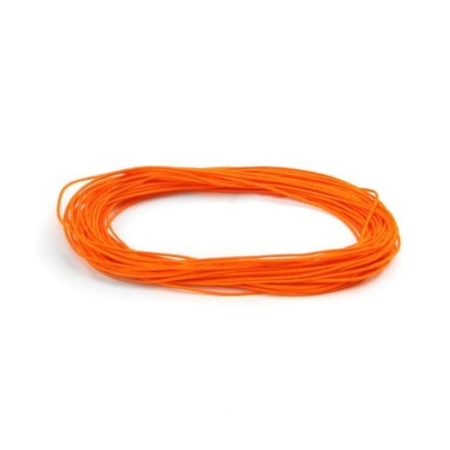 X Satin Cord 0.5mm Orange 5m