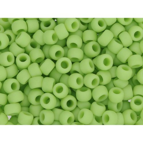 TOHO™ / Round 8/0 / Opaque Frosted / Sour Apple / 10g / ~ 300 pcs