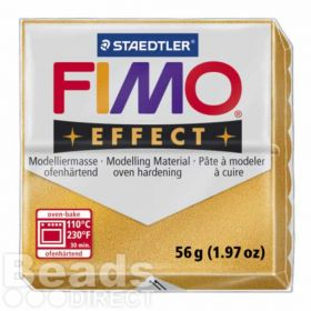 Staedtler Fimo Effect Polymer Clay Metallic Gold 56g (1.97oz)