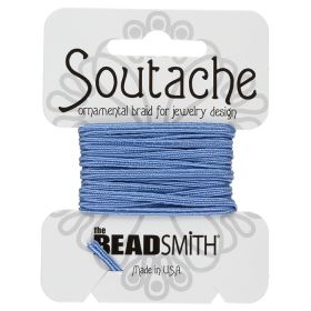 Blue Rayon Soutache Cord Beadsmith 3yds