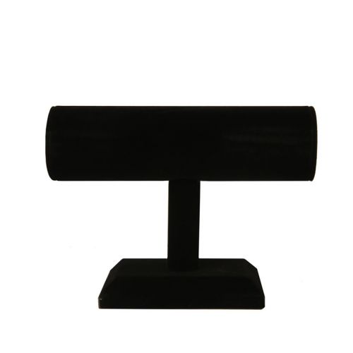X-Black Velour Jewellery Stand For Bracelets 14x18cm Pk1