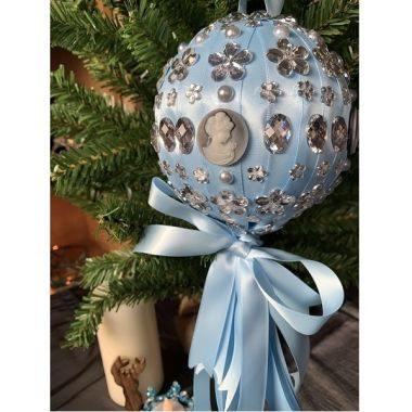 How To Make Large Victorian Baubles - Tutorial