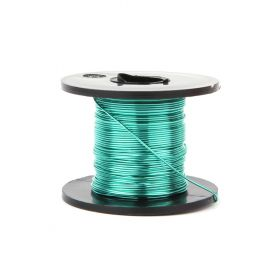 Supa Green Coloured Copper Craft Wire 0.5mm 25metre Reel