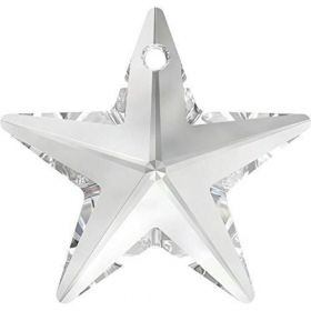 6714 Swarovski Star Pendant 20mm Crystal Clear Pk1