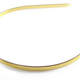 Gold Colour Tiara Base 0.5x15cm Pk1