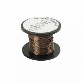 Craft Wire Gunmetal 0.5mm 25m Reel