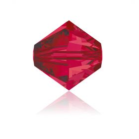 5328 Swarovski Crystal Bicones 6mm Ruby Pk360