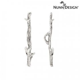 Nunn Design Antique Silver Woodland Toggle Bar 7x40mm Pk1