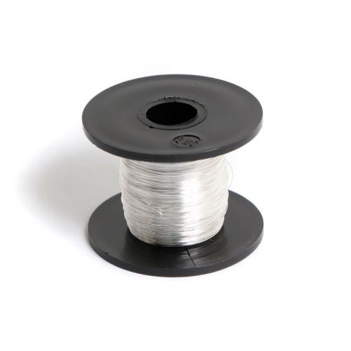 Silver Plated Copper Wire 0.2mm 50g/175metre Reel