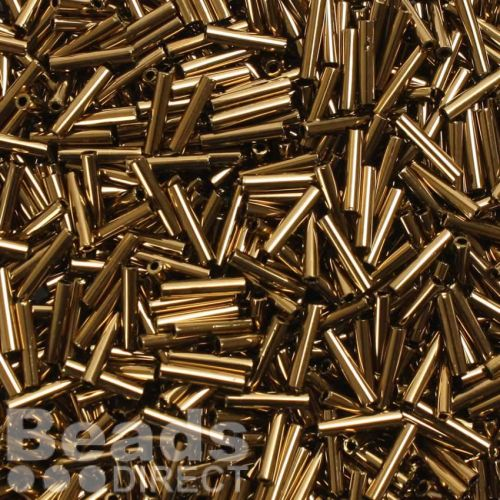 Toho Bugle Seed Beads Size 3 9mm Bronze 10g