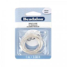 Silver Plated French Bouillon Wire 0.9mm 1metre