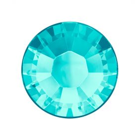 2078 Swarovski Crystal Hotfix Round 7mm SS34 Light Turquoise A HF Pk144