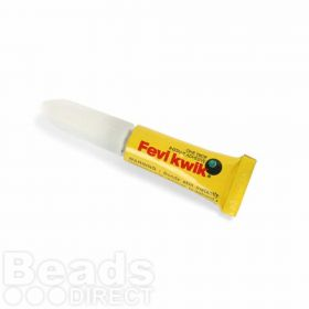 Fevi Kwik One Drop Instant Adhesive/Glue 3g Tube