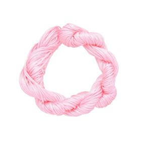 Mcord ™ / Macramé cord / nylon / 1mm / light pink / 27m