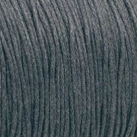 Waxed cord / graphite / 1.0mm / 1m